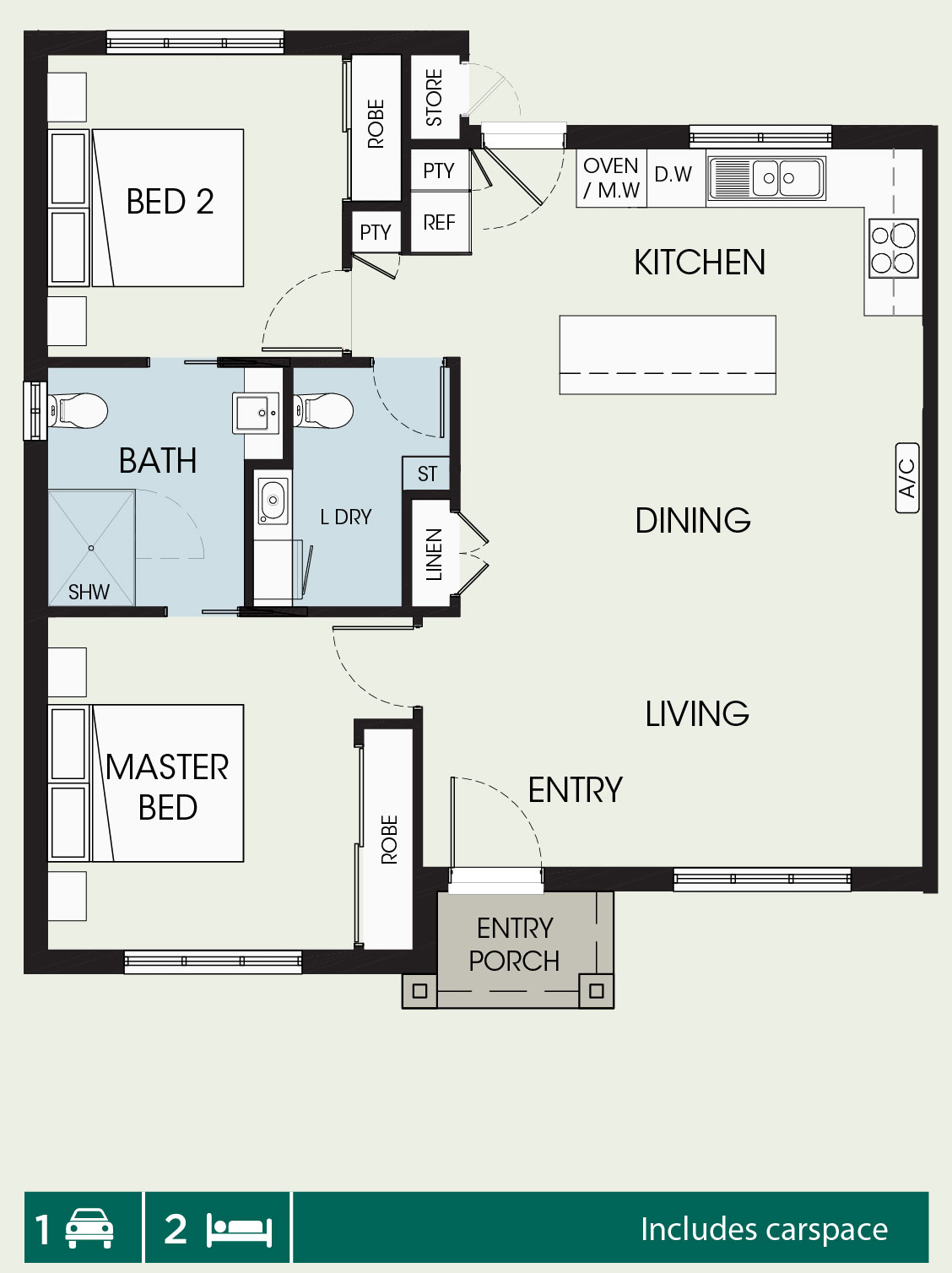 Somers floorplan